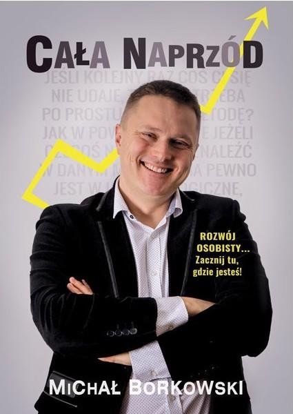 Książka: Cała naprzód - Michał Borkowski